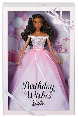 New Mattel Happy Birthday Wishes Barbie Doll African Model Muse Rare Shani Head