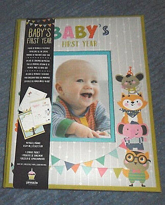 """Baby""""s First Year Book of Memories and Keepsakes Photo Memory Book"""