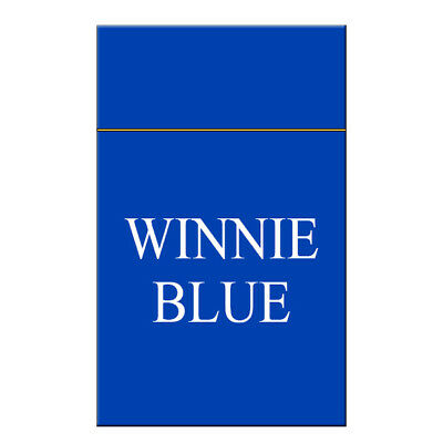 3 X Winnie Blue flavour liquid Juice Free e Delivery