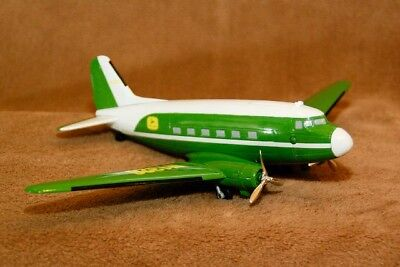 New John Deere Limited Edition DC-3 Company Airplane Collectible Bank - NIB