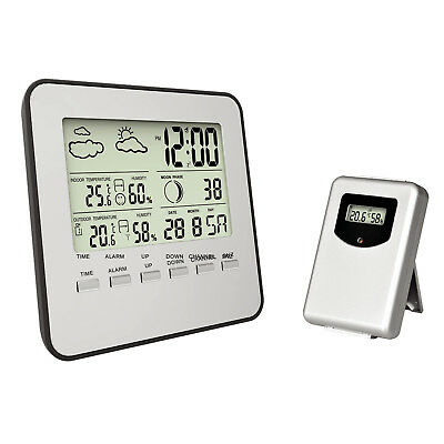 NEW Digital Weather Station with Sensor - Pearl Time,Clocks
