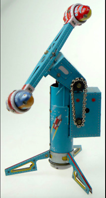 Tin Toy Rocket Ride Unusual Collectable