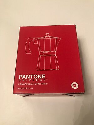 PANTONE Universe 6 Cup Coffee Maker (186) Ketchup Red