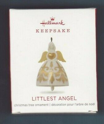 "2018   ""LITTLEST ANGEL""  Hallmark  Keepsake  ""MINI""  Ornament"