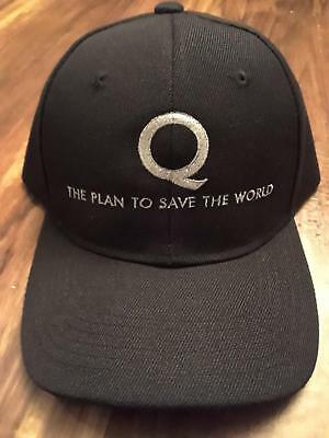Q-The Plan to Save the World Embroidered Baseball Cap