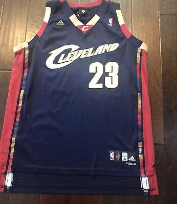 best website c4b3b ad431 CLEVELAND CAVALIERS NIKE Lebron James Mens 4X Jersey 23 ...