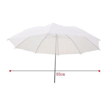 33in / 83cm Studio Flash Translucent White Soft Umbrella H5I1