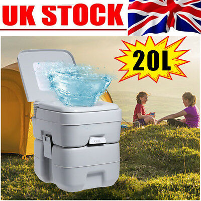 Portable Toilet Travel Mobile Camping WC Chemical Outdoor Handle Fast Delivery