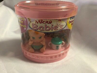 Rare And Still Sealed Tomy Micro Babies Nursery Baby Electronic Toy Doll 2003