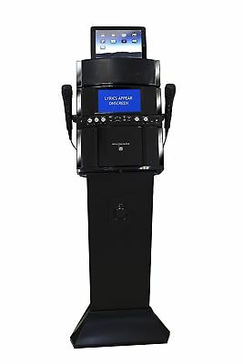 Professional Pedestal Karaoke Machine System 2 Mics With Screen RRP £299.99