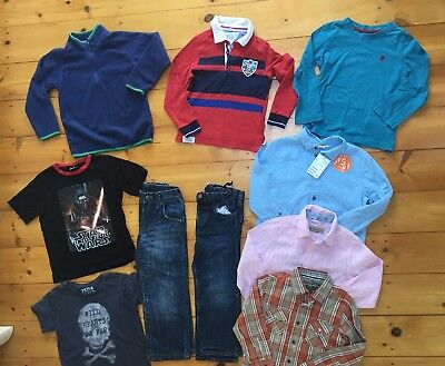 Boys Clothes Bundle T Shirts Jeans Shirts Tops Next/ Ted Baker 4-5 Years ⭐️GC⭐️