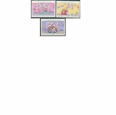 Cocos Islands 1981 CHRISTMAS (3), Unhinged Mint SG 72-4