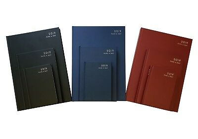 Diary 2019 A4 A5 A6 Week to View Page a Day Desk Diary Hard Backed Diary Student