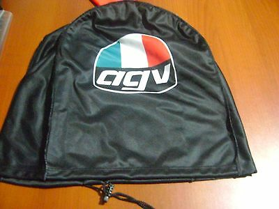 Motorcycle Helmet Bag Microfiber Agv Helmet Bag Carry Helmet Duffle Black Rossi