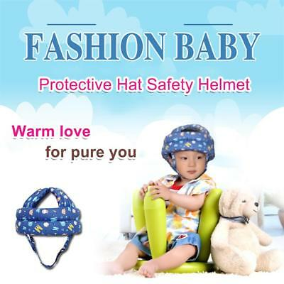 Baby Safety Learn to Walk Cap Anti-collision Soft Head Protective Hat Helmet New