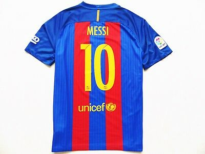 Vintage Shirt Nike Fc Barcelona   10 Messi Home 2016 17 Lfp Jersey Camiseta  Xl d542067f561ab