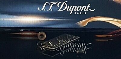 S T DuPont Lighter's Parts For Under Lids line 1 Large & Small Gold VGC PX92