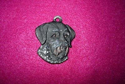 German Wire Haired Pointer Dog Necklace