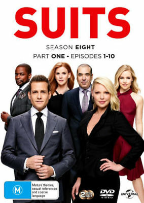 SUITS - SEASON 8 part 1  -  DVD -  Region 2 UK Compatible