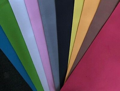 "10 X FUNKY ART & CRAFT FOAM SHEETS COLOURS-19"" X 19"" THICKNESS 1 mm 10 COLOUR"