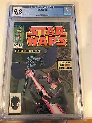 Star Wars #88 CGC 9.8 White Pages Marvel Comics 1st appears of Lumiya 1984