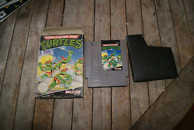 TURTLES TEENAGE MUTANT HERO tortues ninja NINTENDO NES