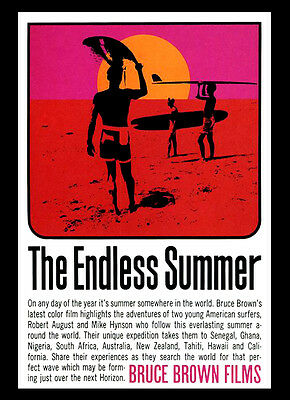 A3 - Endless Summer Surfing Movie Cinema Film wall Home Posters Retro Art #10