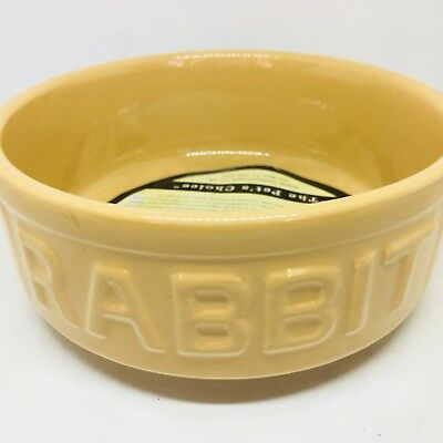 Mason Cash Small Animal Pet Feeding Bowl, New, Rabbit,