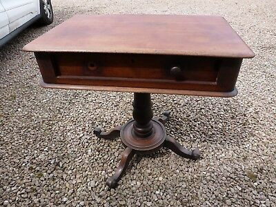 Antique Victorian Mahogany Side Table Project