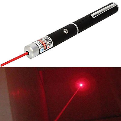 523nm 1mw Red Pointer Laser Pen PPT Class Presentation Tools Beam Light Cat Toys