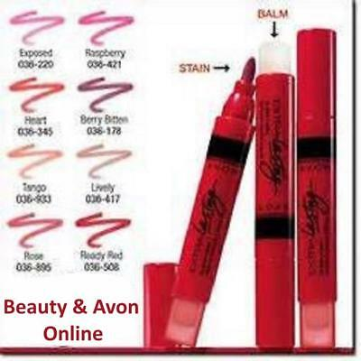Avon Extra Lasting Lip Stain + Balm DISCONTINUED  **Beauty & Avon Online**