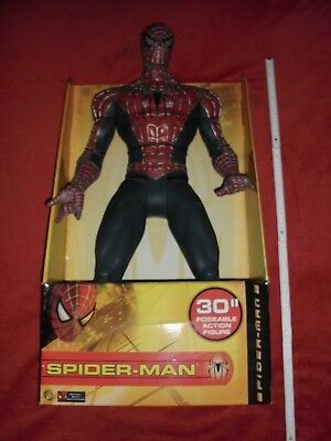 Spiderman Figur von Toy Biz 2004 / 76 cm / 30 Inch / NEU in ORIGINALVERPACKUNG !