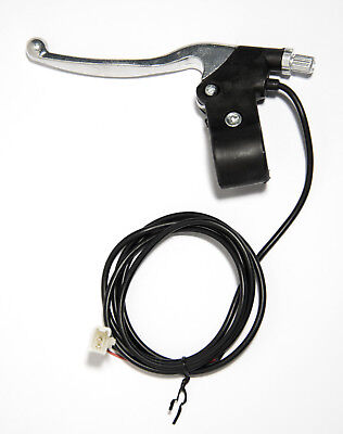 Electric Scooter Brake Lever Non-slip Handlebar E-Bike Pocket Mini Razor 2-Wire
