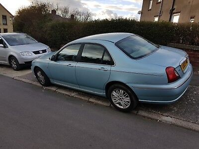 41000 mls Rare Rover 75 1.8T Turbo Petrol 40 MPG average       DELIVERY POSSIBLE