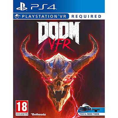 Doom VFR (PS4) Game | Brand New & Sealed | VR Required | Fast & Free Delivery !