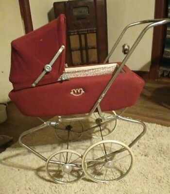 Vintage Baby Coach Stroller Carriage