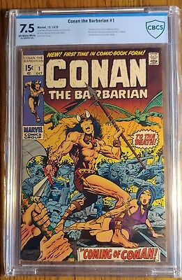Conan The Barbarian #1 **key Issue** *1St Marvel Comic Appearance* 7.5 Vf- 1970