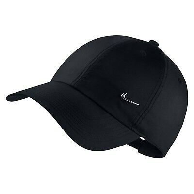 huge discount 8a15c 6e768 Nike Metal Swoosh Heritage 86 Cap (Black) - One Size - New - 943092
