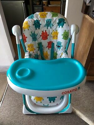 Casatto Noodle Supa Highchair in Monster Mash