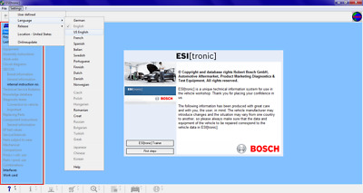 Bosch ESI[tronic] 2016.1 FULL DVDs Electrical Diagrams Parts Maintenance Service