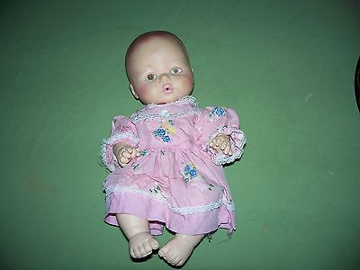Vintage Eegee Baby Doll #15V5 Drink & Pee Doll 12 inch Rubber