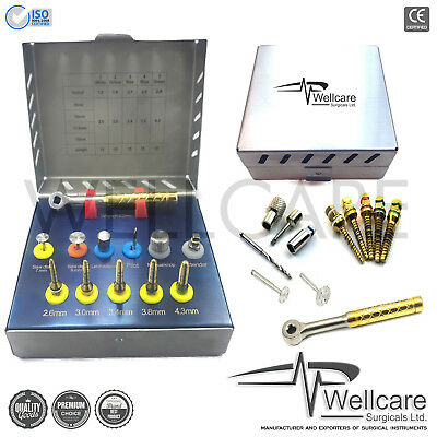 NEW Bone Expander Kit With Saw Disk Sinus Lift Dental Implants Kit