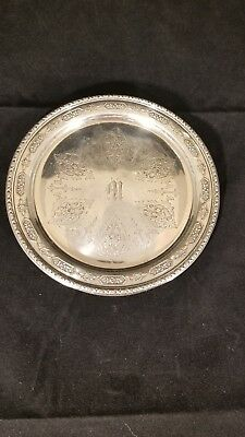 Towle Louie XIV Sterling Silver 5435 Plate Monogrammed