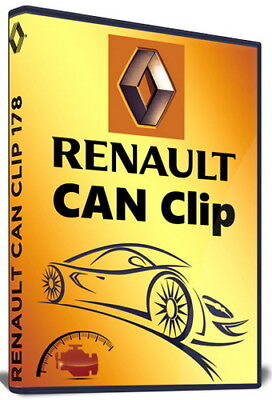 Renault Dacia CAN Clip v181 NEW Diagnostic Software Latest 2018 Download