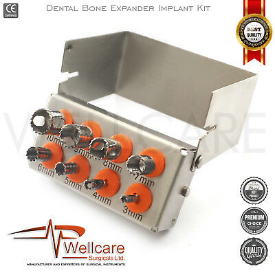 Dental Sinus Lift Bone Expander Trephines Saw Disk Implant Oral Surgery Kit New