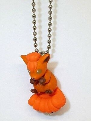 Pokemon Center Vulpix Fox Keychain Keyholder Schlüsselanhänger Cute Kawaii