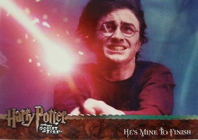 HARRY POTTER & The Goblet of Fire Update TRADING CARD SET 90 artbox 2006