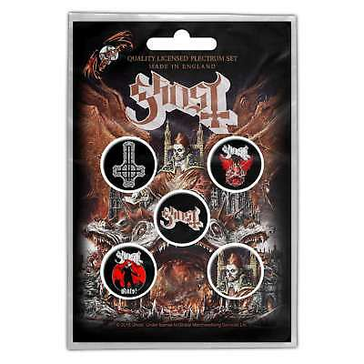 Ghost Prequelle Button Badge Pack 5 Button Set Badge Pack Metal Badges Official