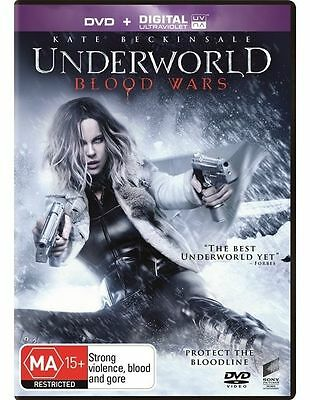 Underworld - Blood Wars (DVD, 2017) Australian Stock