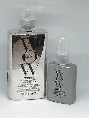Color Wow Dream Coat Supernatural Spray 6.7 oz and 1.7 oz NEW Colorwow